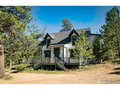 Estes Park Single Family Home For Sale: 433 Rock Ridge Rd