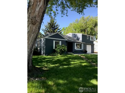 Fort Collins Single Family Home For Sale: 1215 W Magnolia St