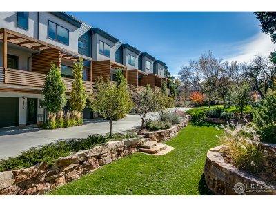Boulder CO Condo/Townhouse For Sale: $1,250,000