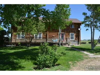 Greeley Single Family Home For Sale: 24205 Highway 392