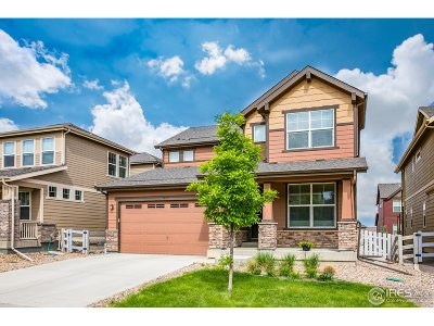 Broomfield Single Family Home For Sale: 16671 Miners Way