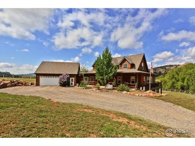Lyons CO Single Family Home For Sale: $1,757,000