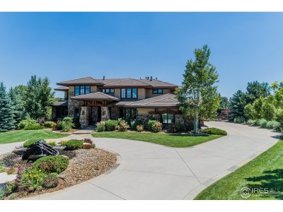 Boulder CO Single Family Home For Sale: $2,799,000