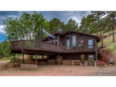 Lyons CO Single Family Home For Sale: $759,000