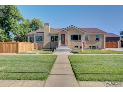 Denver Single Family Home For Sale: 2506 N Glencoe St