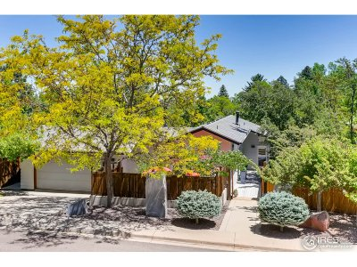 Boulder CO Single Family Home For Sale: $2,499,000