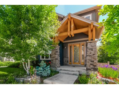 Boulder Single Family Home For Sale: 4114 Lonetree Ct