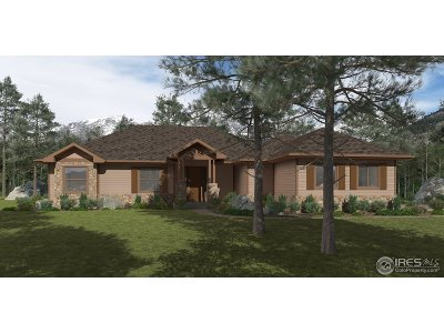 Red Feather Lakes Single Family Home For Sale: 1 E Fox Acres Dr #Lot 1