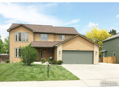 Fort Collins Single Family Home For Sale: 2418 Kenosha Ct