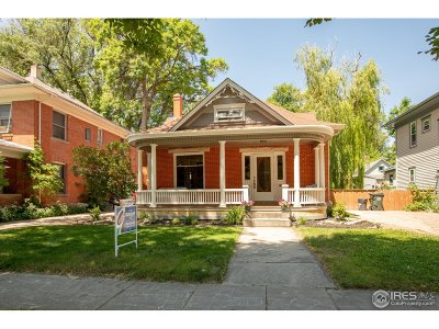 Fort Collins Single Family Home For Sale: 633 Mathews St