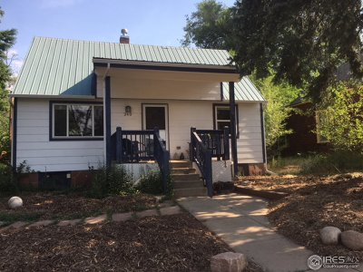 Lyons CO Single Family Home For Sale: $515,000