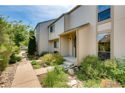 Boulder County Condo/Townhouse For Sale: 1035 E Moorhead Cir