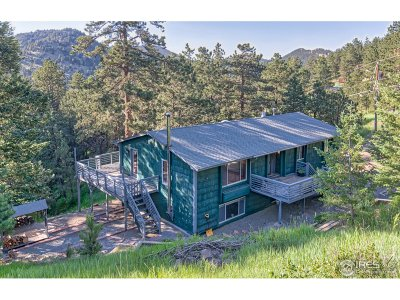Boulder Single Family Home Active-Backup: 784 Bow Mountain Rd