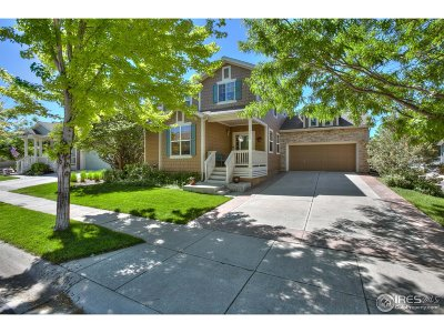 Fort Collins Single Family Home For Sale: 3809 Galileo Dr