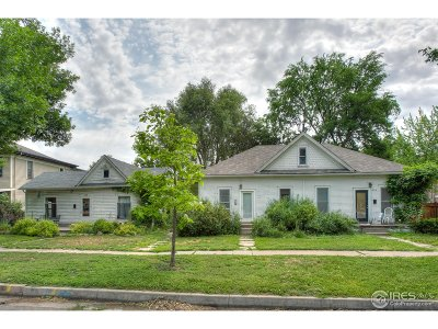 Fort Collins Multi Family Home For Sale: 520 S Meldrum St