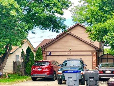 Longmont Single Family Home For Sale: 2009 Mount Sneffels St