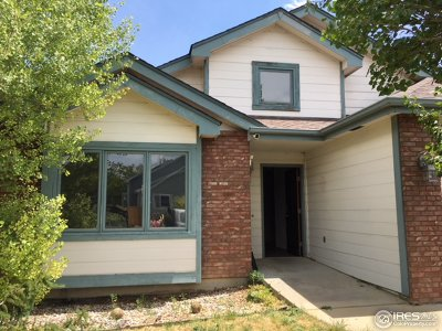 Fort Collins Single Family Home For Sale: 4422 Vista Dr