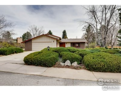 Boulder Single Family Home Active-Backup: 7460 Old Mill Trl