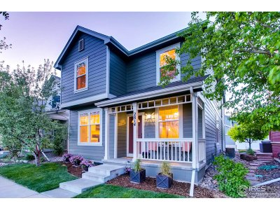 Fort Collins Single Family Home For Sale: 2814 Autumn Harvest Way