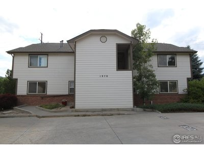 Fort Collins Condo/Townhouse For Sale: 1078 Tierra Ln #101