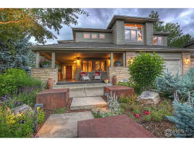 Boulder CO Single Family Home For Sale: $1,595,000