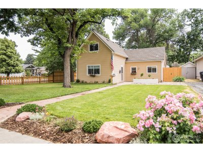 Longmont Single Family Home For Sale: 836 Emery St