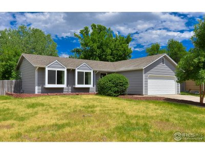 Fort Collins Single Family Home For Sale: 3802 Dall Pl