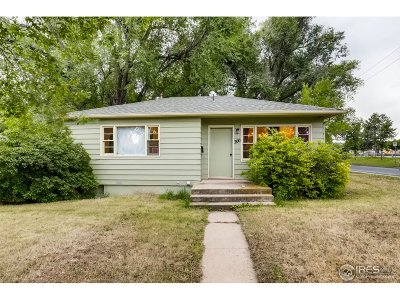 Boulder CO Single Family Home For Sale: $599,700