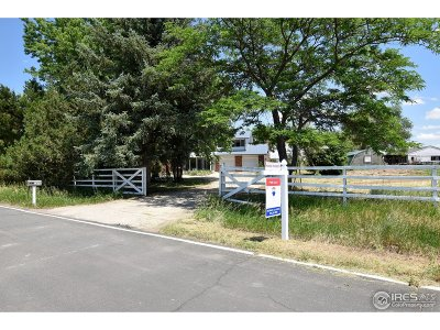 Weld County Single Family Home For Sale: 1878 Old Highway 52
