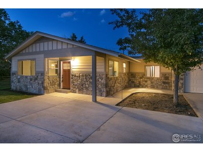 Fort Collins Single Family Home For Sale: 3524 Terry Lake Rd