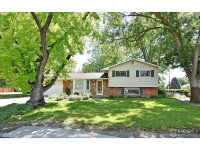 Fort Collins Single Family Home For Sale: 2528 Constitution Ave