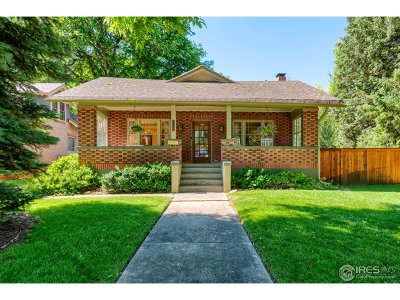 Fort Collins Single Family Home For Sale: 1105 W Mountain Ave
