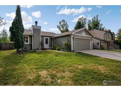 Fort Collins Single Family Home For Sale: 3206 Sharps St