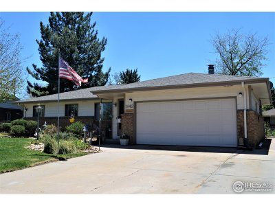 Greeley Single Family Home For Sale: 1142 24th Ave Ct