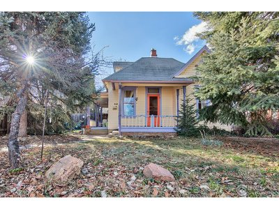 Boulder CO Single Family Home For Sale: $1,500,000