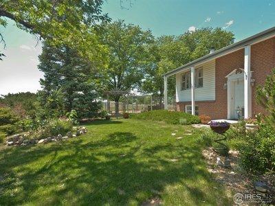 Berthoud Single Family Home For Sale: 2820 Pheasant Run