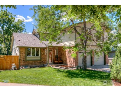 Boulder Single Family Home For Sale: 3878 Bosque Ct