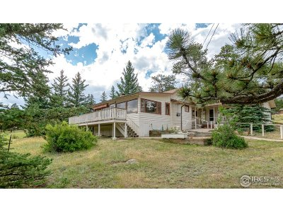 Estes Park Single Family Home For Sale: 1641 High Dr