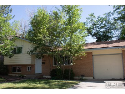 Boulder Single Family Home For Sale: 3505 Moorhead Ave