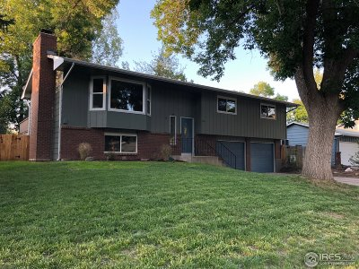 Fort Collins Single Family Home For Sale: 1806 Valley Forge Ave