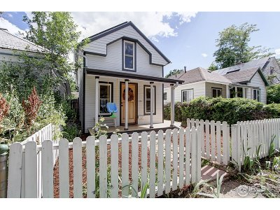 Boulder Single Family Home For Sale: 834 Dewey Ave