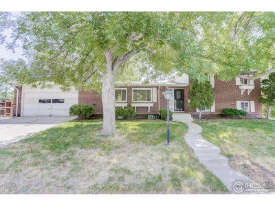 Longmont Single Family Home Active-Backup: 1640 Lamplighter Dr