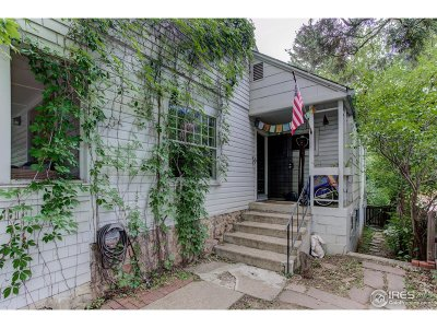 Boulder Single Family Home For Sale: 945 9th St