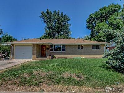 Loveland Single Family Home Active-Backup: 1135 Winona Dr