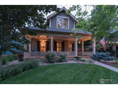 Boulder CO Single Family Home For Sale: $2,850,000