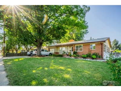 Longmont Single Family Home For Sale: 1432 Mountain View Ave
