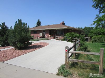 Fort Collins Single Family Home For Sale: 2001 Evergreen Dr