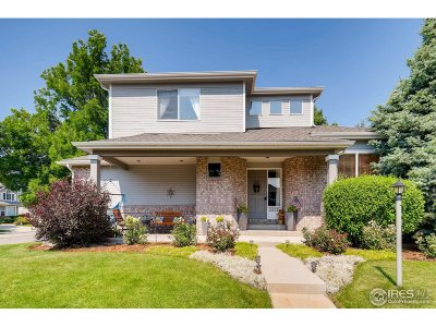 Longmont Single Family Home For Sale: 2327 Creekside Dr