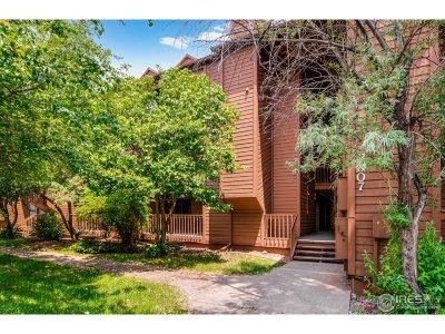 Boulder Condo/Townhouse For Sale: 2807 Sundown Ln #104
