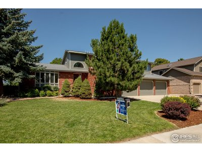 Longmont Single Family Home For Sale: 1219 Twin Peaks Cir